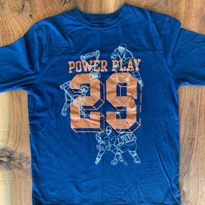Joe Fresh Hockey Power Play Long Sleeve Tee